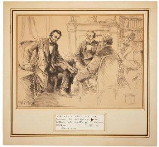 Abraham Lincoln Endorsement Signed