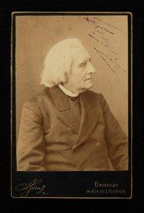 Franz Liszt Signed Photo