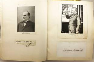 Autograph album with over 250 autographs: Theodore