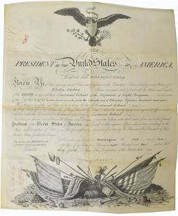 James Madison Signed Appointment