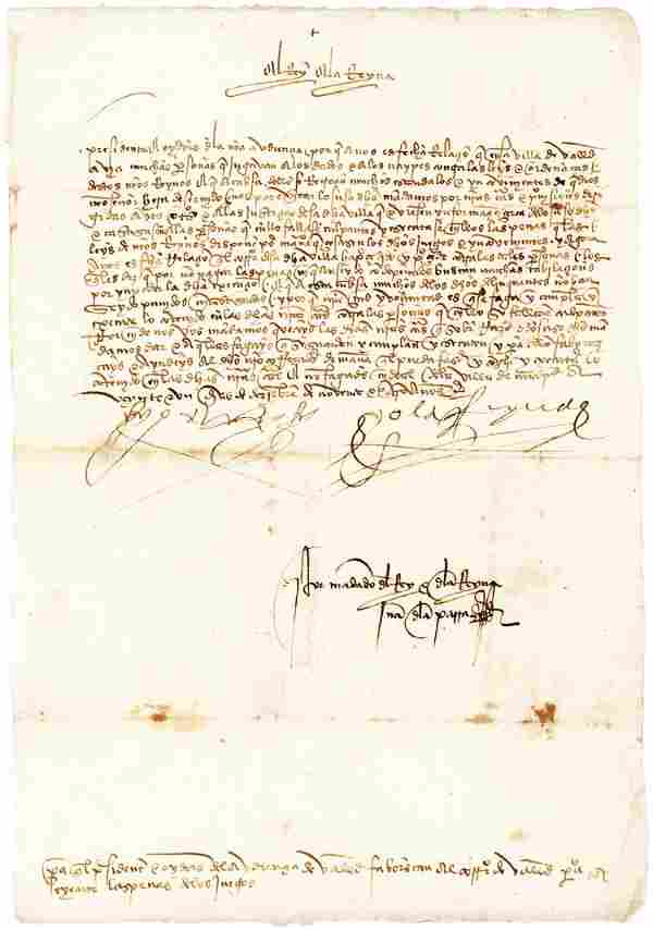 Ferdinand and Isabella DS 1494 against gambling