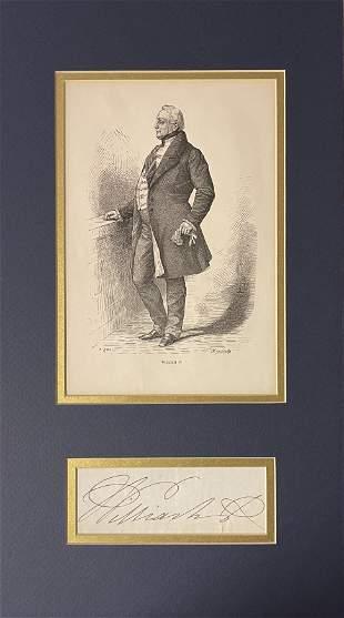 William IV Signature