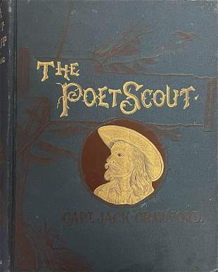 The Poet Scout Signed with Poem by Captain Jack