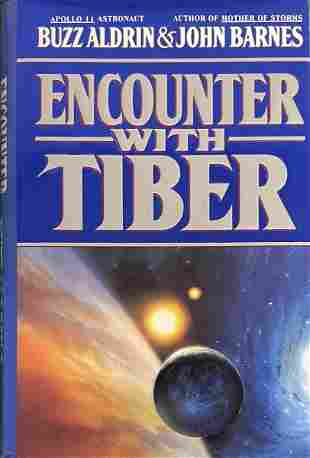 """Buzz Aldrin Signed """"Encounter With Tiber"""""""