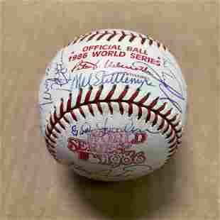 1986 Mets Signed Ball