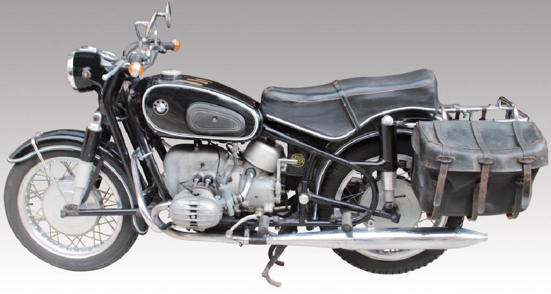 Moto BMW R60 série 2,