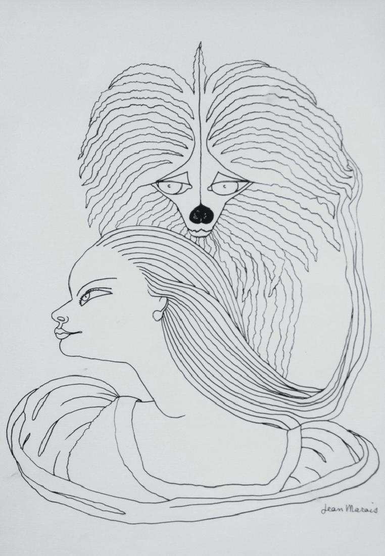 Jean MARAIS (1913-1998) La Belle et la Bête