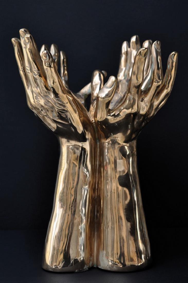Jean MARAIS (1913-1998) Les Quatre mains Epreuve en