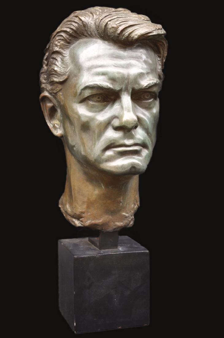Arno BREKER (1900-1991) Jean MARAIS, 1963, Paris.
