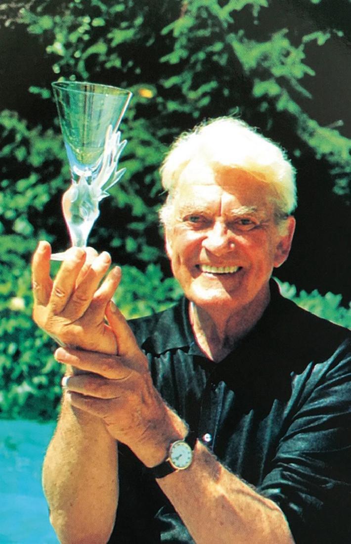Jean MARAIS (1913-1998) pour DAUM Exceptionnel service - 2
