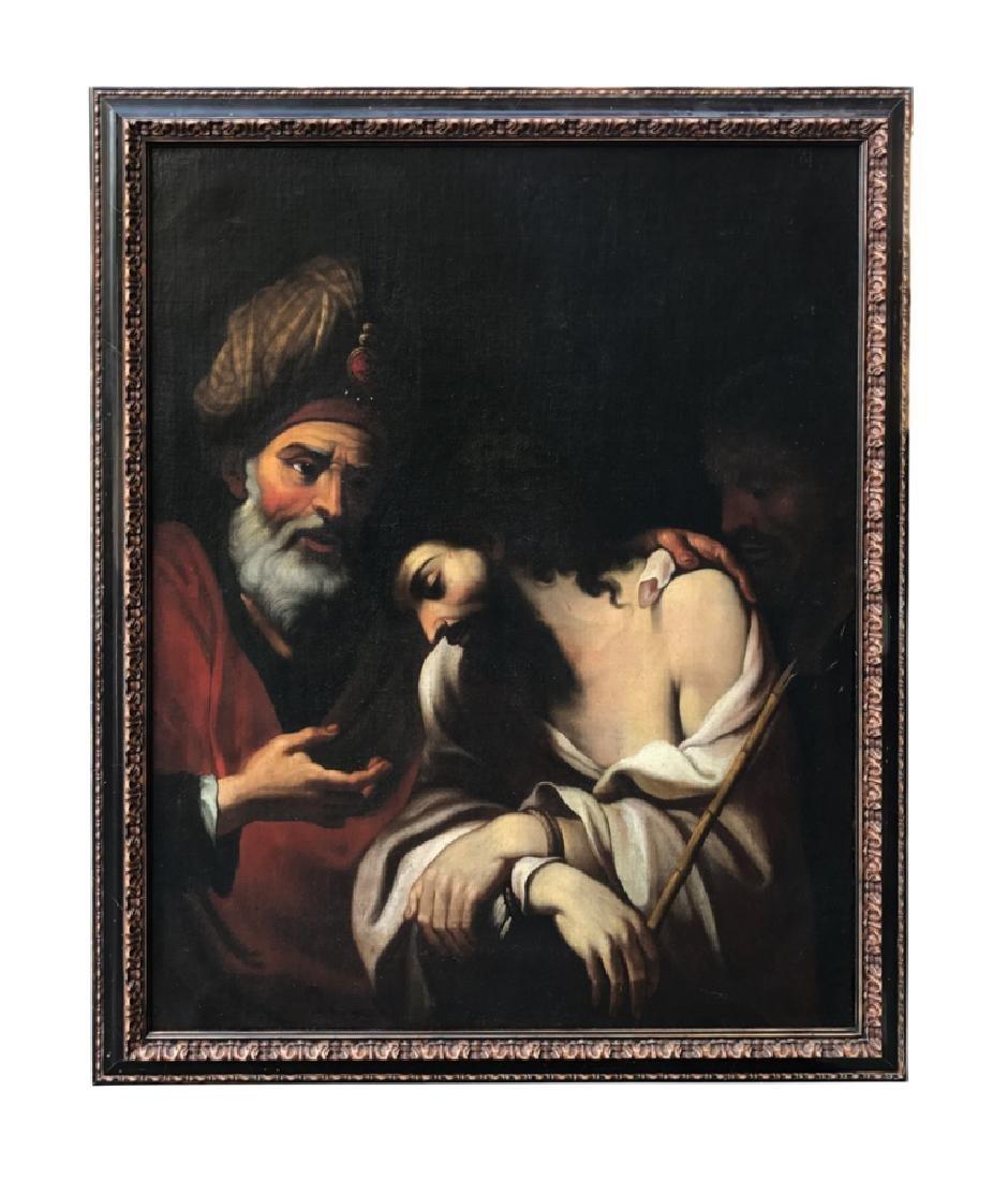 BENEDETTO GENNARI (1633-1715) Le Christ et Nicodème