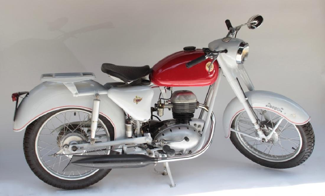 TERROT, moto 125 cm3 modèle Tenace de 1958 Vendu avec