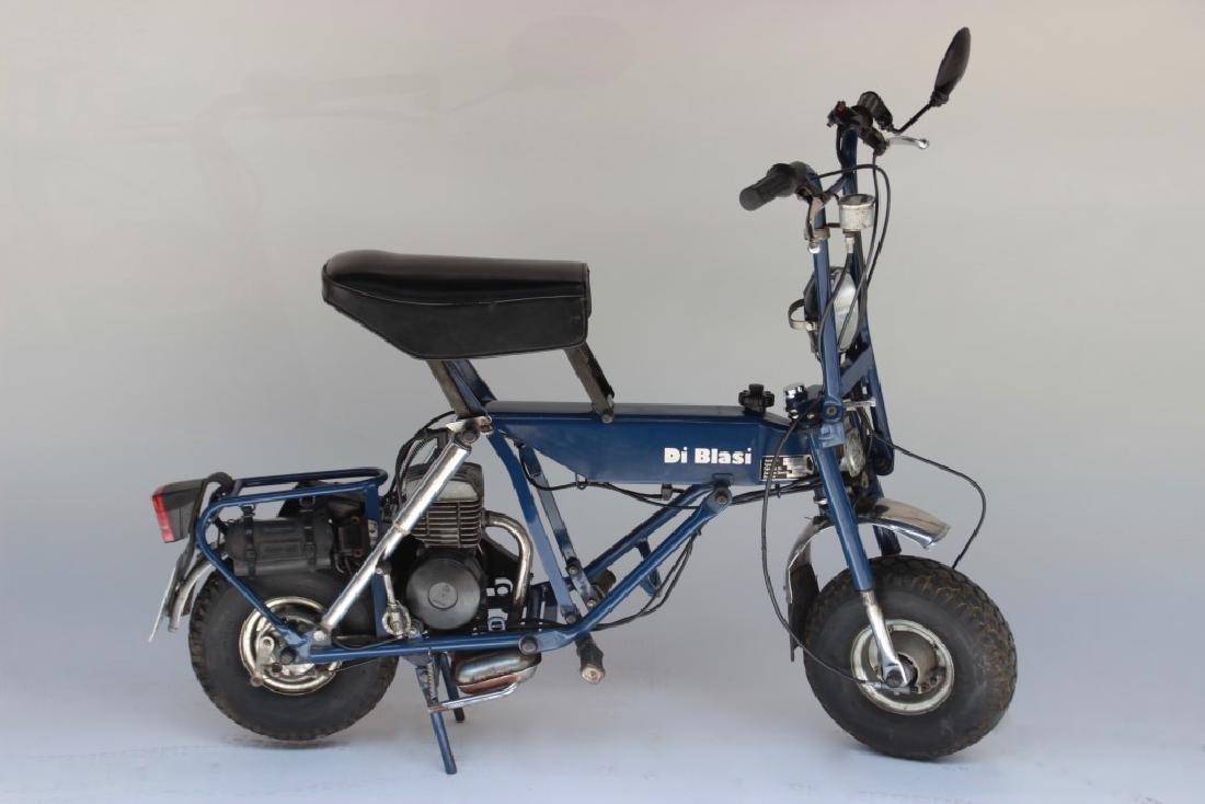 DI BLASI , motocyclette 50 cm3 de 1988 Moto pliante en