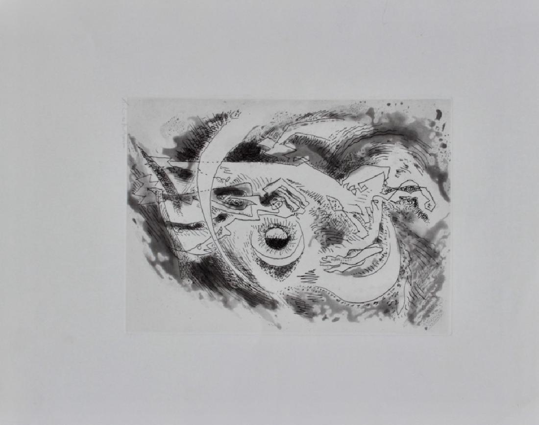 André MASSON (1896-1987) Composition surréaliste