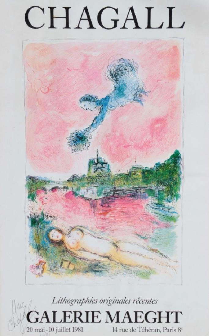 """Marc CHAGALL (1887-1985) """"CHAGALL - Lithographies"""