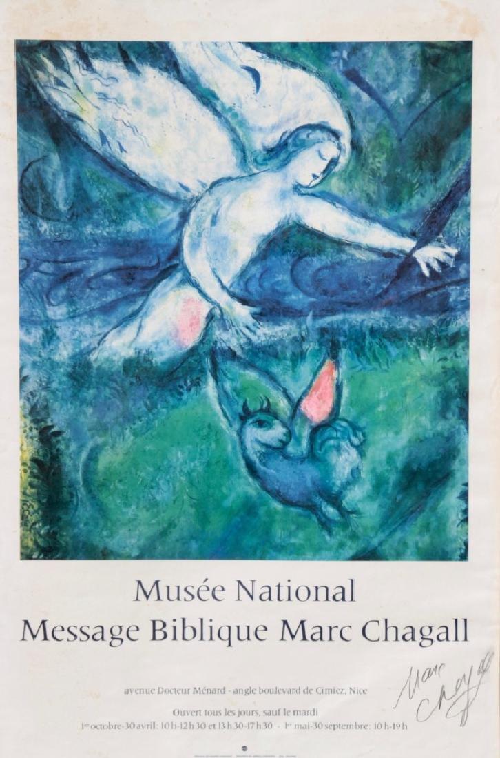 "Marc CHAGALL (1887-1985) "" Message biblique Marc"