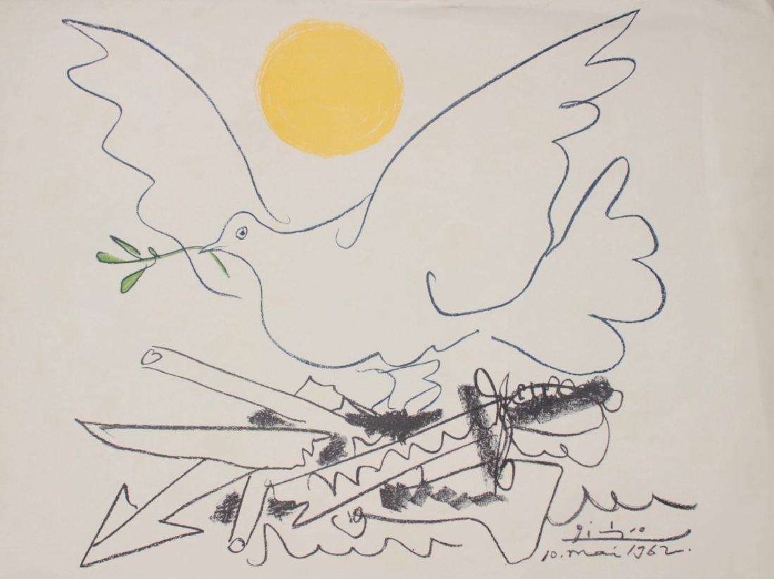 Pablo PICASSO (1881-1973), d'après « Colombe de la Paix