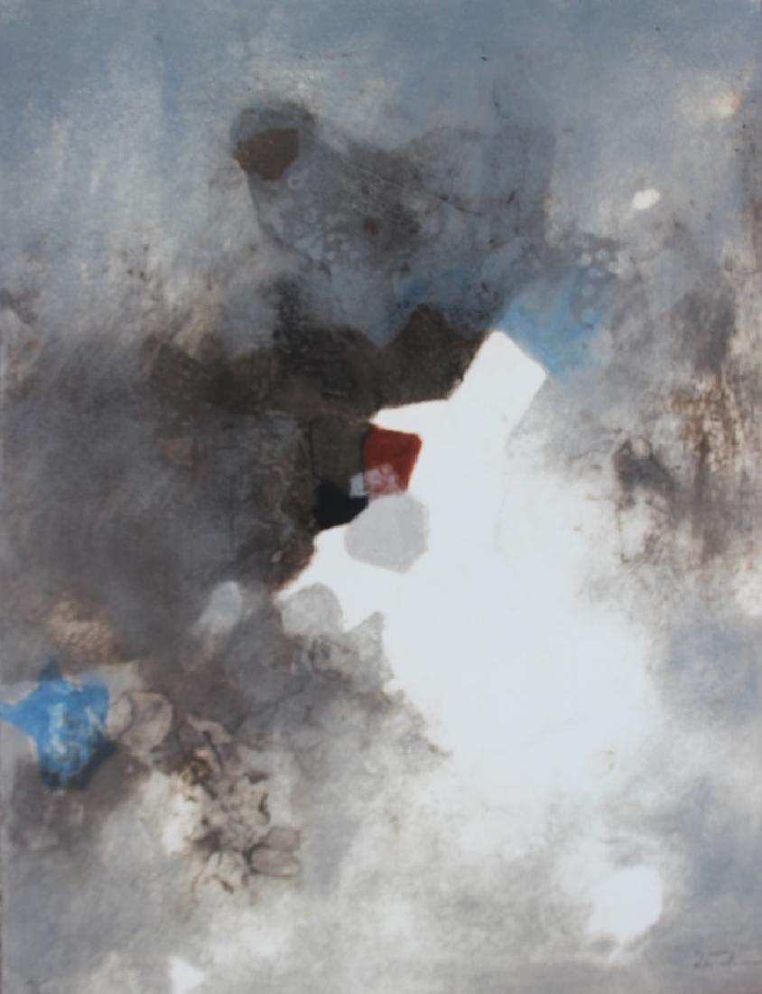Jacques ZENATTI (1952) Composition abstraite