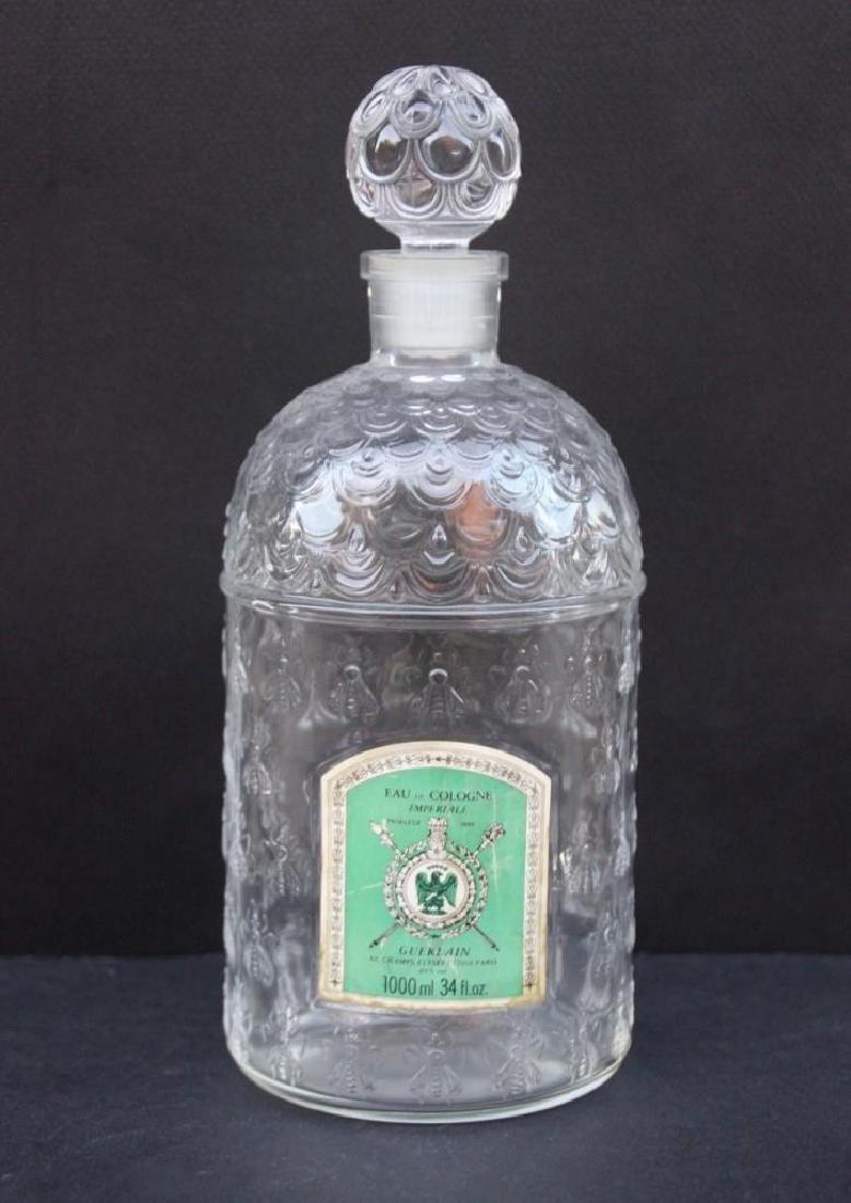 GUERLAIN Eau de Cologne impériale Flacon en verre moulé