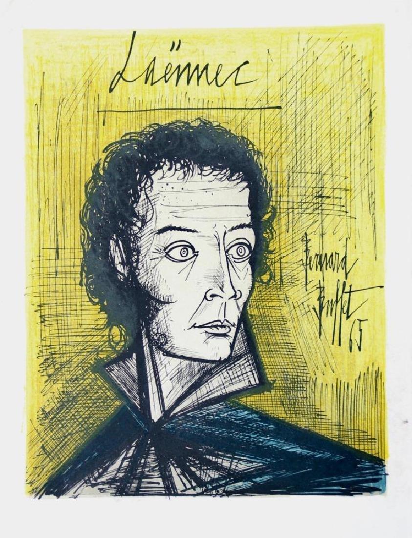 Bernard BUFFET (1928-1999) Laennec - 1965 Lithographie