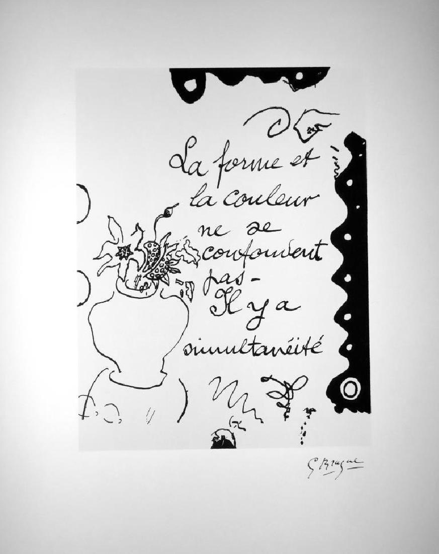Georges BRAQUE (1882-1963) La forme et la couleur