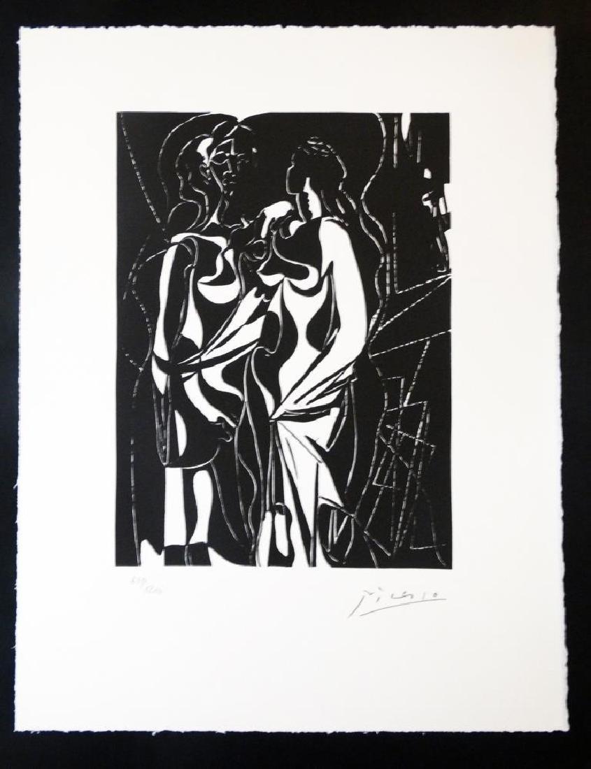 Pablo PICASSO (1881-1973)  Helene chez Archimède,