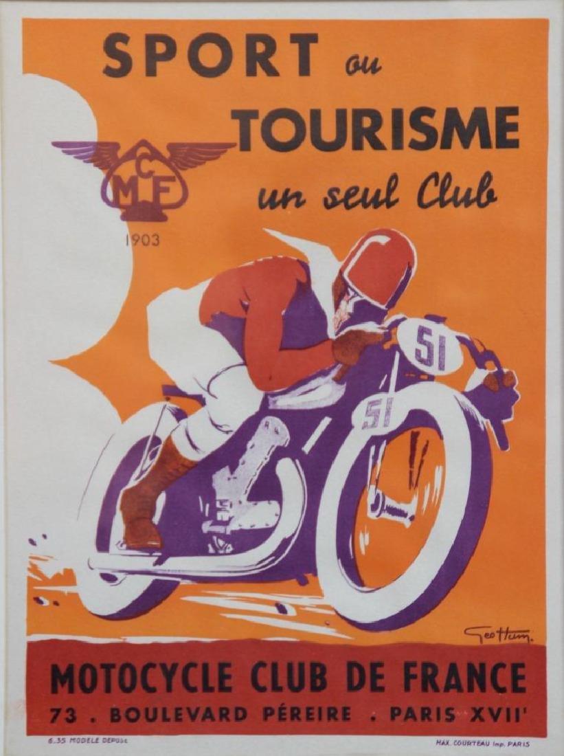 CMF - Sport ou tourisme un seul club Motocycle club de
