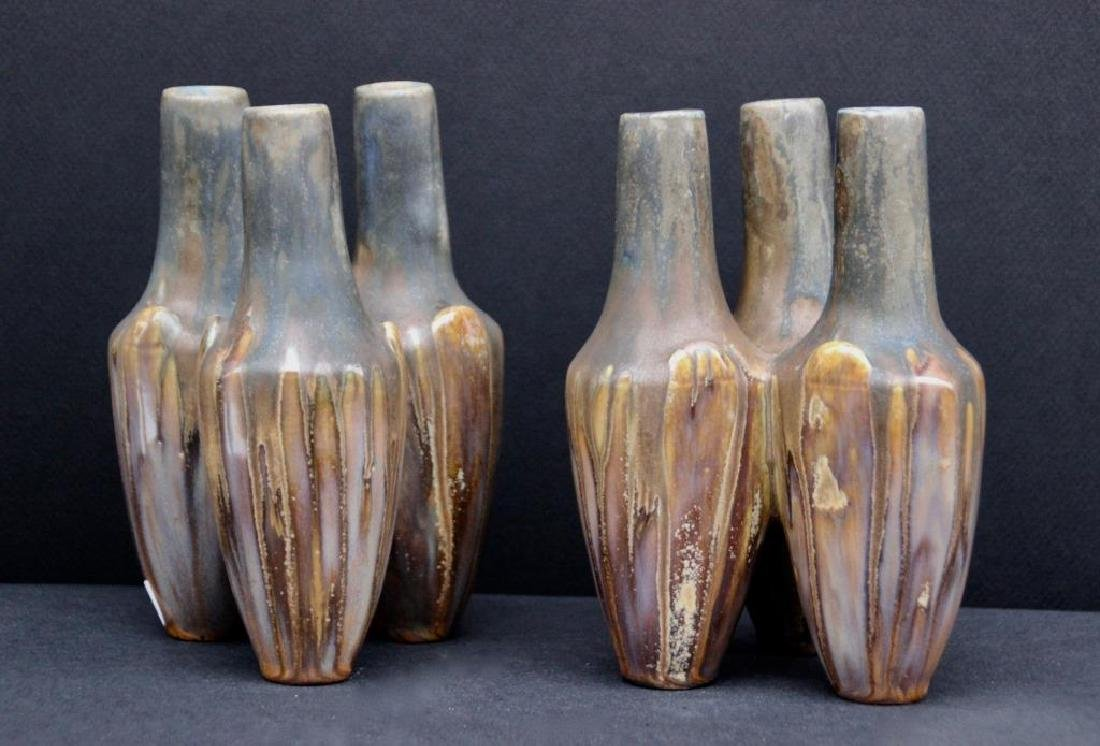 Travail du début du XXème siècle Paires de vases