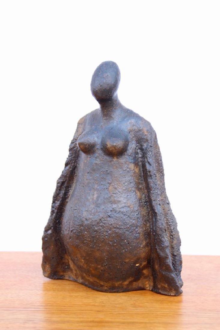 René QUILLIVIC (1879-1969) Maternité Sculpture en terre