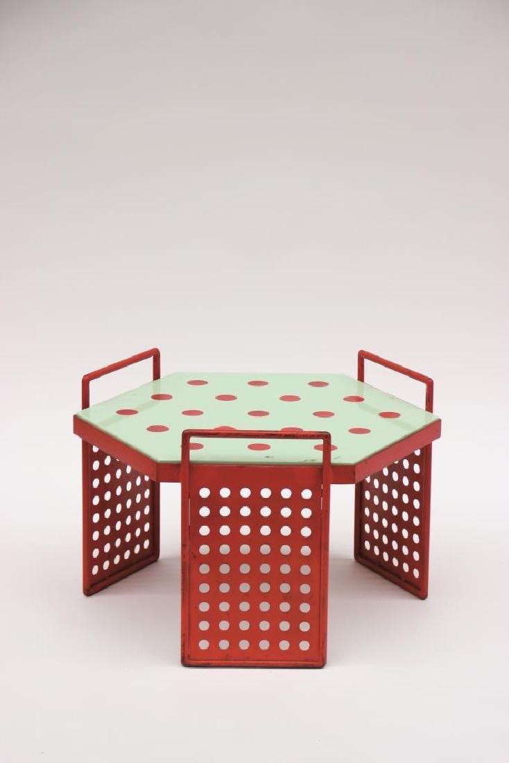 Jean ROYERE (1902-1981) Rare table basse de forme
