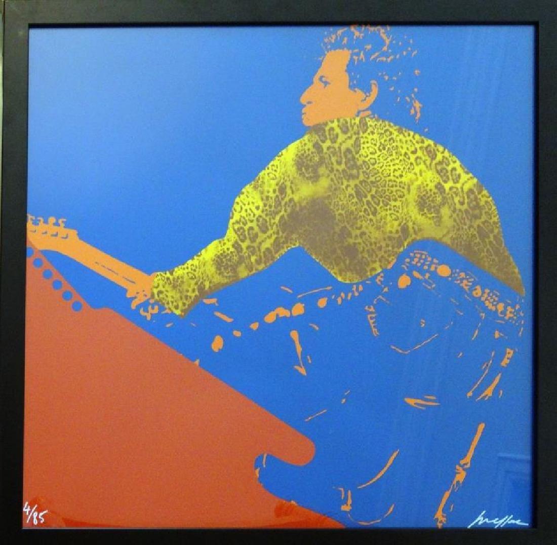 Ivan MESSAC (1948) « Keith Richards »  Sérigraphie sur