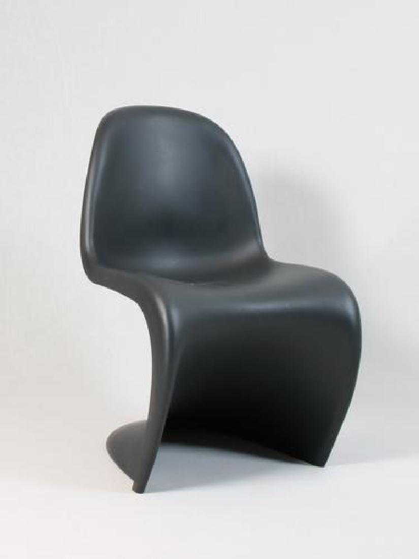 Verner PANTON (1926-1998) -  Vitra  Paire de chaises en