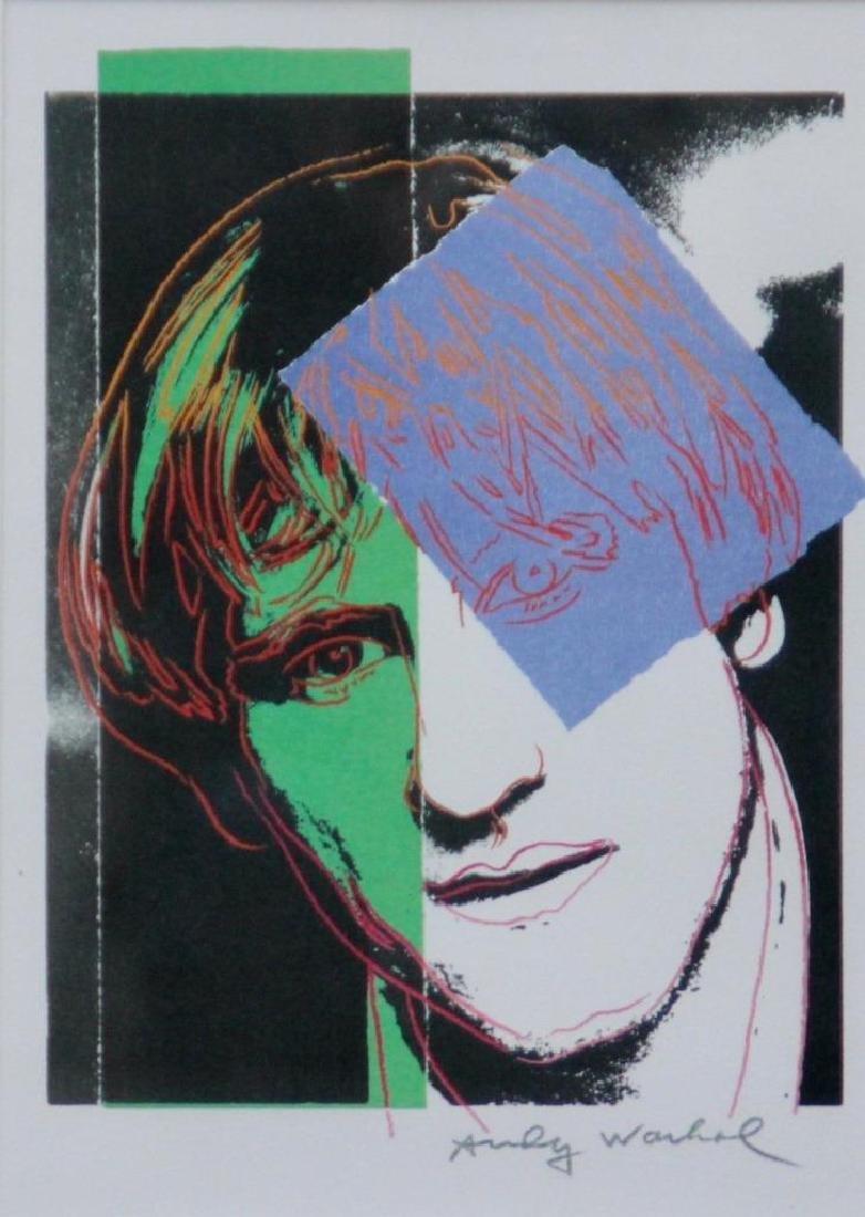 Andy WARHOL (1928-1987) Gérard Depardieu - 1986