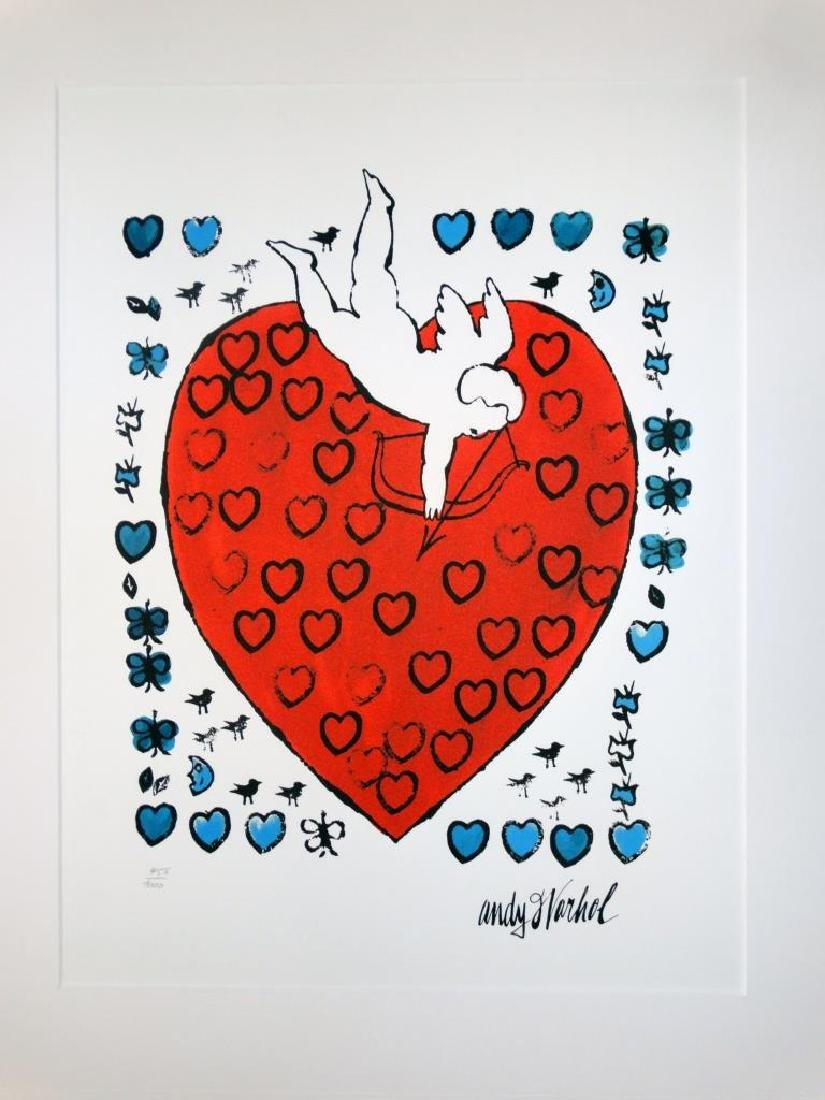 Andy WARHOL (1928-1987)   Putty with Heart