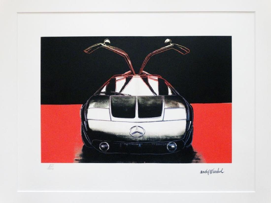 Andy WARHOL (1928-1987) Mercedes   Sérigraphie en