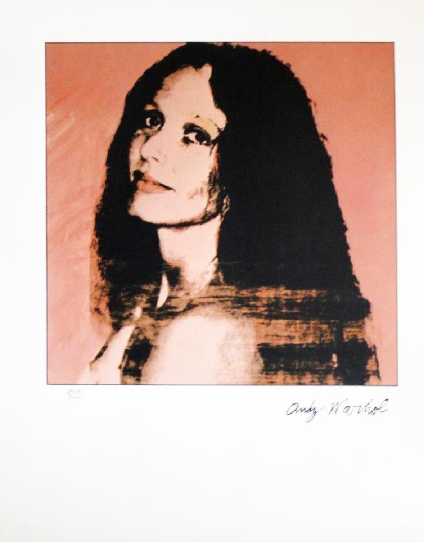 Andy WARHOL (1928-1987) Portrait de Doda Voridis