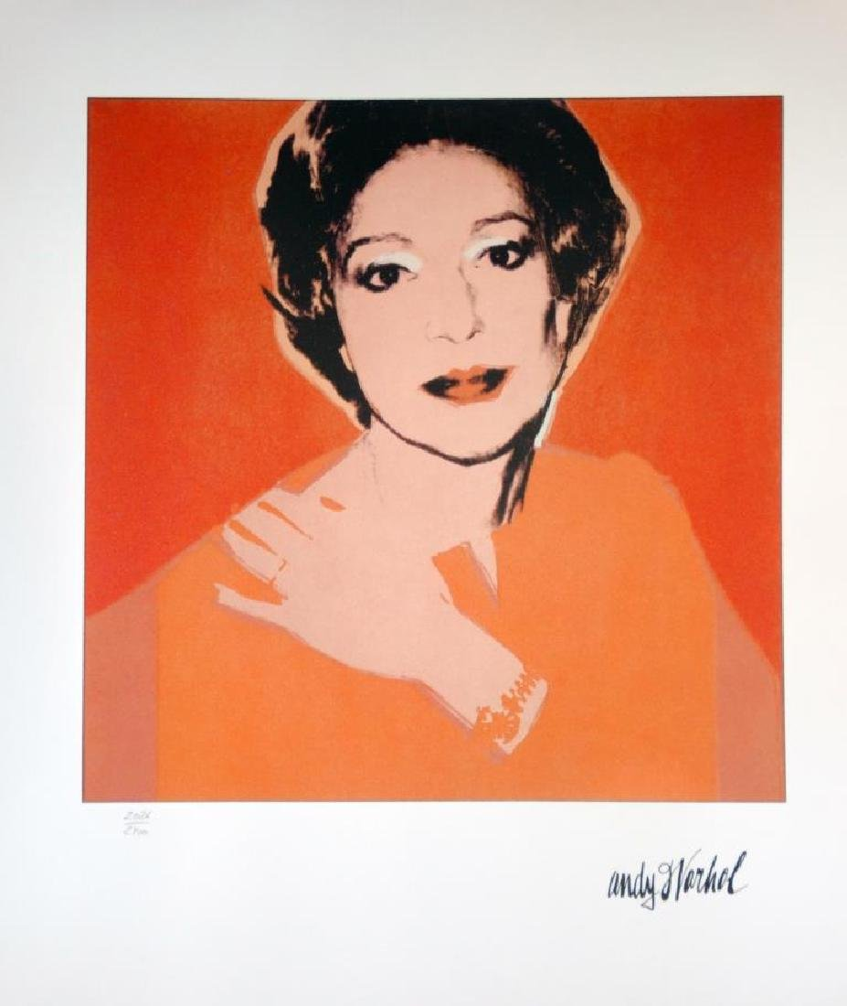 Andy WARHOL (1928-1987) Portrait de Brooke Haward