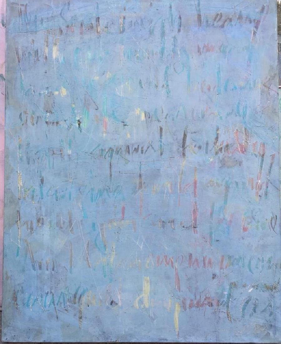 Marianne LJUNG  Love Letter II Huile sur toile. Titré