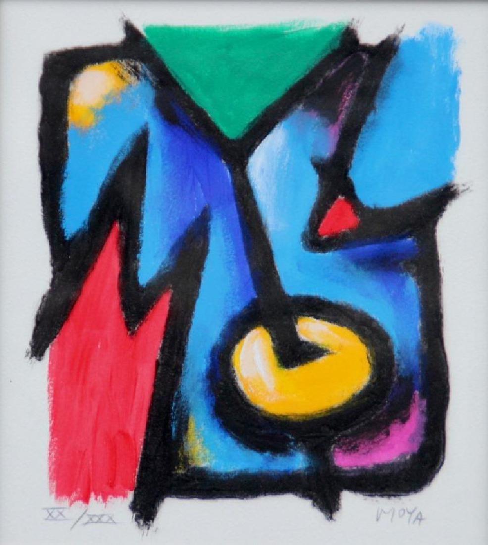 Patrick MOYA (1955) Moya Janus - 2011 Sérigraphie