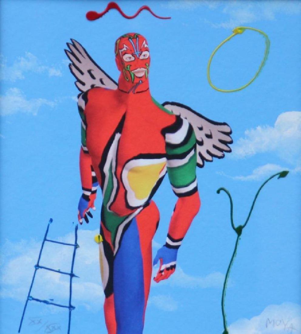 Patrick MOYA (1955) Moya Composition - 2011 Gravure au