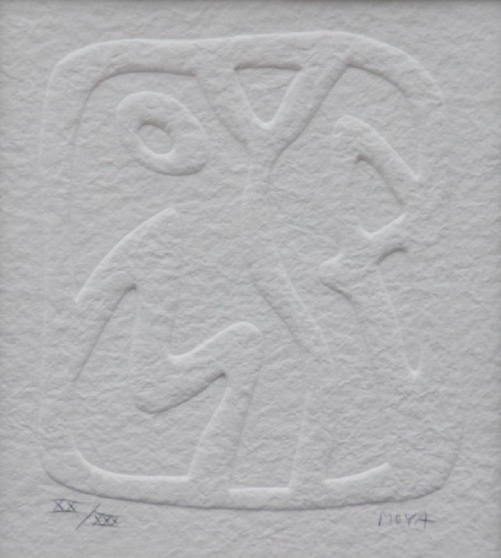 Patrick MOYA (1955) Moya - 2011 Estampage à sec. Signé