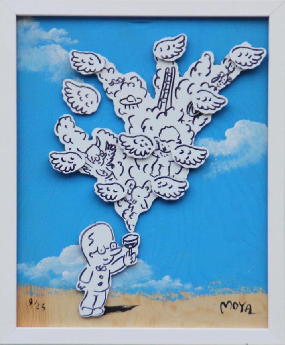 Patrick MOYA (1955)  Moya Vinus - 2014 Peinture en