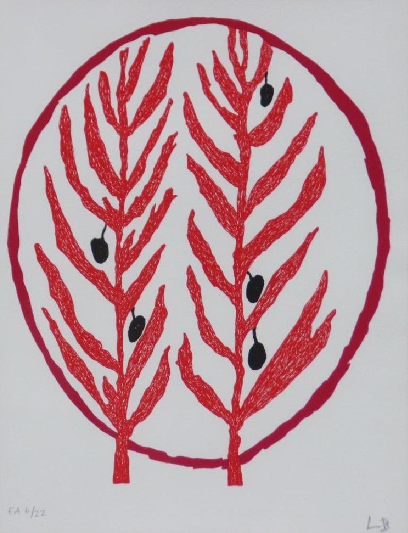 Louise BOURGEOIS (1911-2010) Rameaux d'olivier - 2004