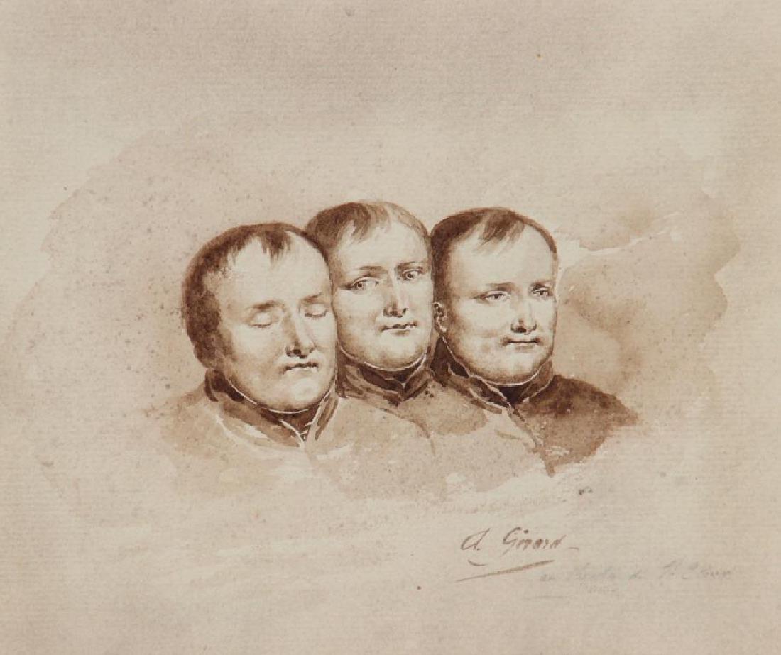 A.GIRARD (XIX° siècle) , d'après Anne-Louis GIRODET