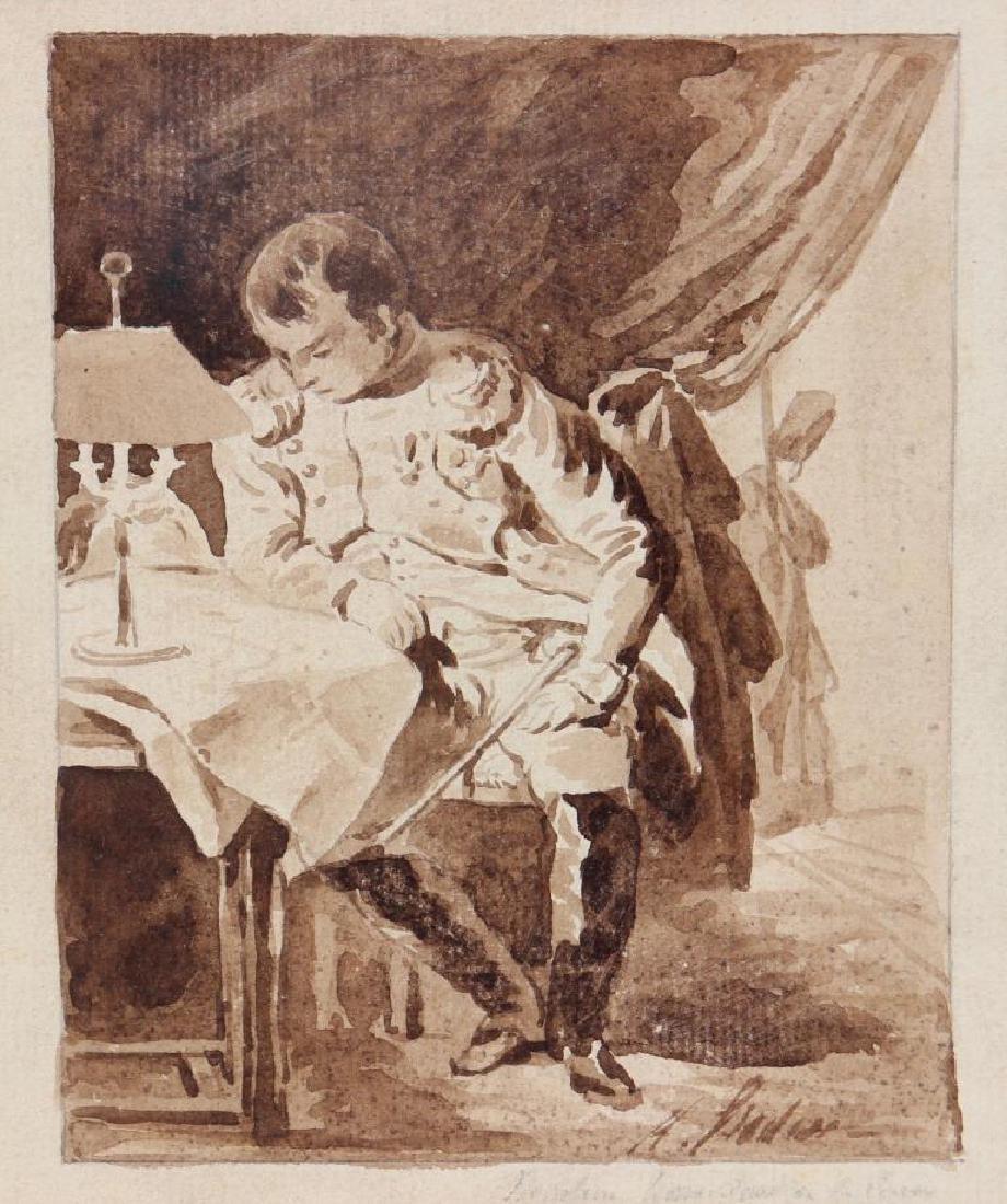 Ecole française du XIX° siècle  L'empereur Napoléon 1er
