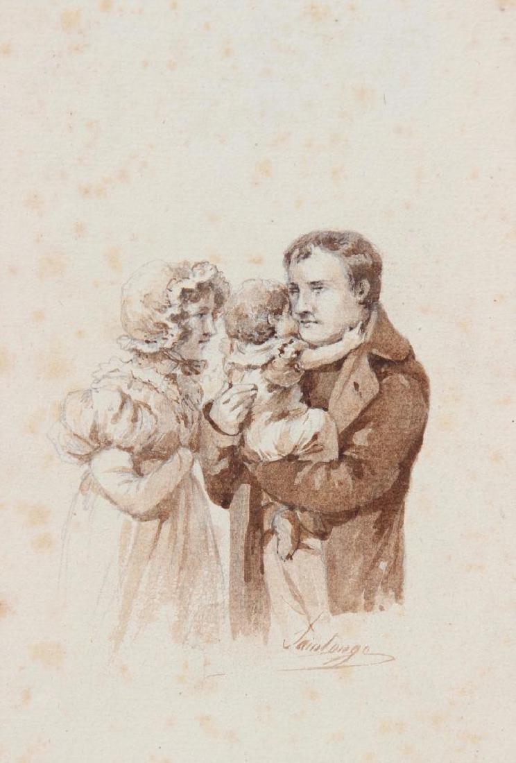 SAINTONGE (XIX° siècle)  Le 24 janvier 1814. Napoléon