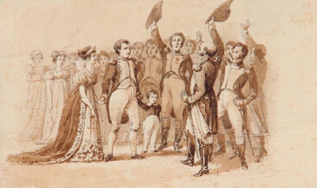 SAINTONGE (XIX° siècle)  Napoléon 1er confie