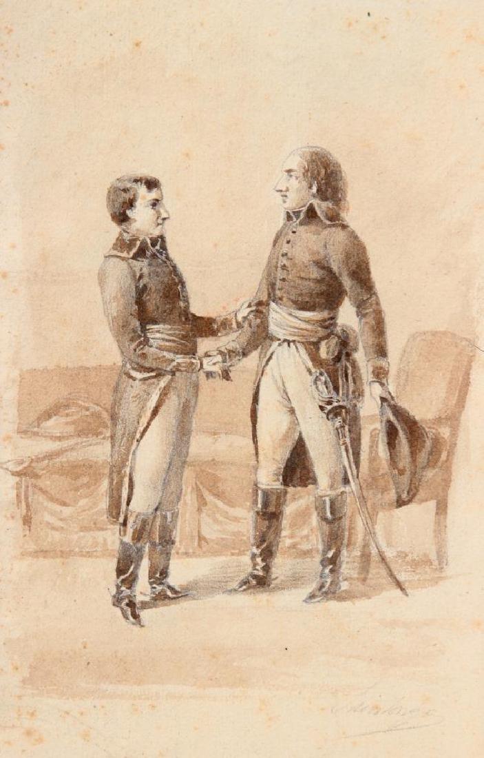 SAINTONGE (XIX° siècle) La rencontre de Napoléon et