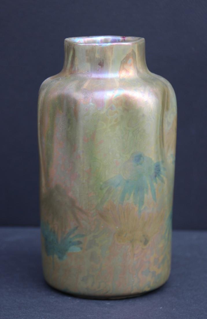 Clément MASSIER (1844-1917) Vase de forme organique en