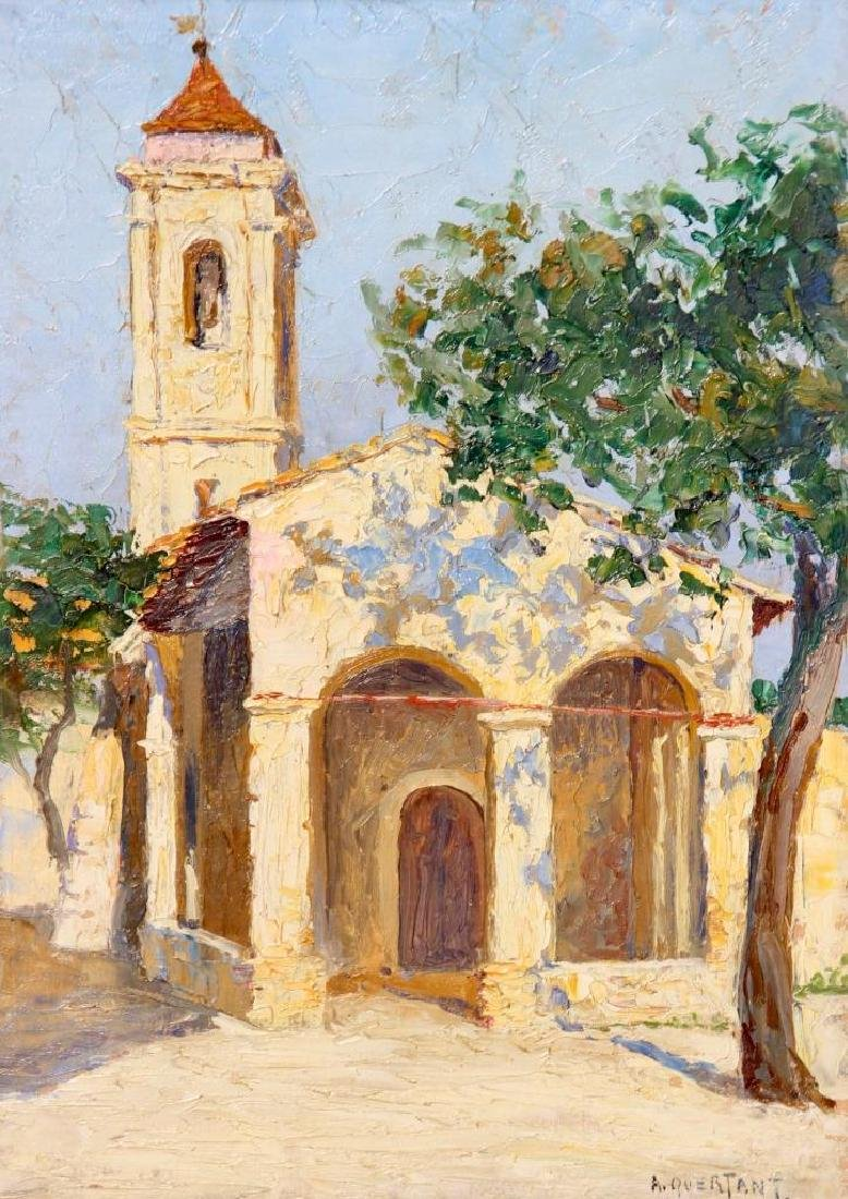 A. QUERTANT (XIX-XX) Chapelle de la Protection circa